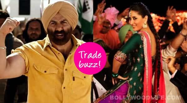 Trade Buzz: Will Kareena Kapoor Khan's tooh beat Sunny Deol's dhai kilo ka haath?