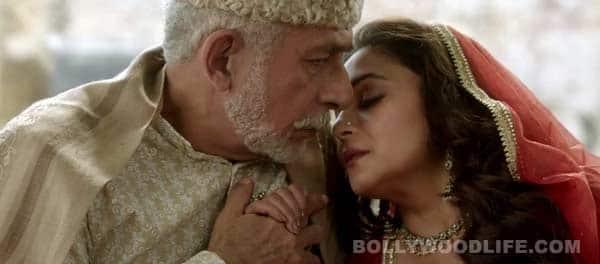 Dedh Ishqiya trailer: Naseeruddin Shah falls flat for Madhuri Dixit Nene!