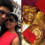 Ravi Dubey-Sargun Mehta wedding invitation: View pic!