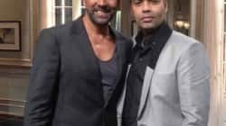 Akshay Kumar and Karan Johar on Koffee with Karan