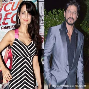 Is Ameesha Patel doing a Shahrukh Khan?