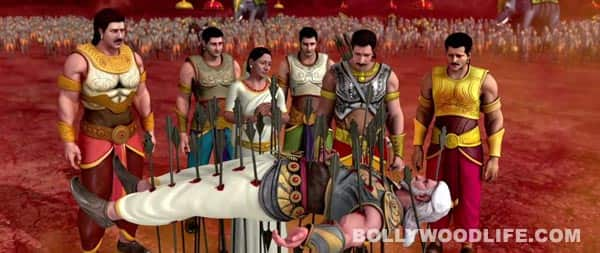 Mahabharat song Dharamkshetra: Reminds you of BR Chopra's popular show Mahabharat!