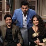 Will Farhan Akhtar and Vidya Balan reveal their wedding woes on Koffee with Karan 4?