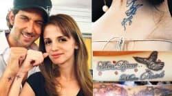 Hrithik Roshan-Sussanne, Deepika Paukone-Ranbir Kapoor's tattoo woes!