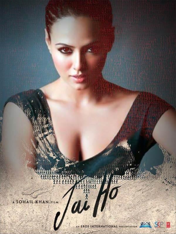 Jai Ho! new poster: Salman Khan promotes Sana Khan exclusively!