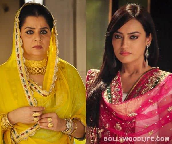 Zoya and Razia Begum in Qubool Hai