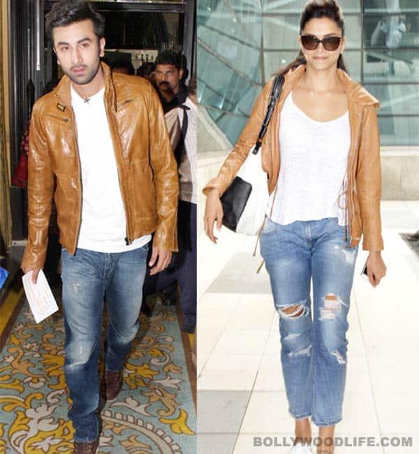 Did Deepika Padukone borrow ex-beau Ranbir Kapoor's jacket?