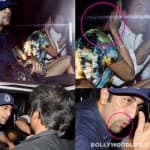 Angry Ranbir Kapoor spotted with a mystery woman in a new look, blasts paparazzi!