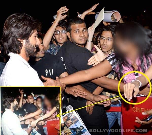 Did Shahid Kapoor's bodyguard molest a girl?