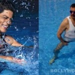 What were Shahrukh Khan and Boman Irani upto in a pool?