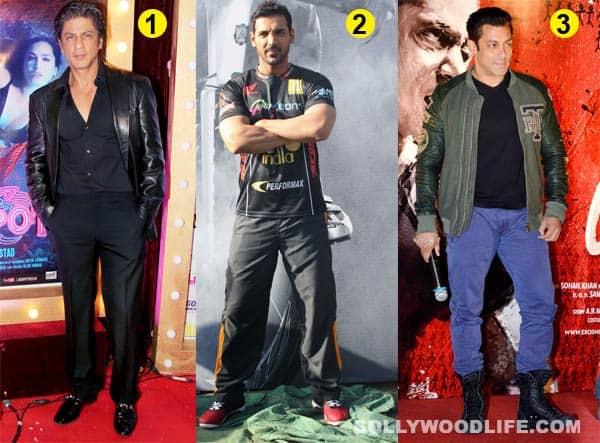 Shahrukh Khan is sexier than Salman Khan and Aamir Khan!