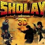 Why was converting Sholay in 3D challenging?