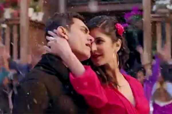 Dhoom:3 song Tu hi junoon: Aamir Khan tries hard to looktall!