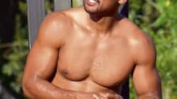 Will Smith chiseled body