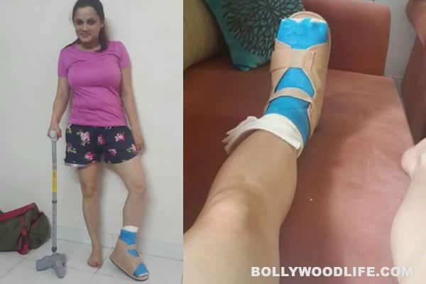 Nach Baliye 6: Kanika Maheshwari injures her foot during rehearsals