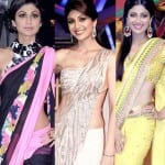 Shilpa Shetty Kundra's super sexy saree style statements!