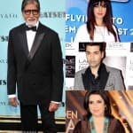 Amitabh Bachchan, Priyanka Chopra and Karan Johar wish a peaceful and laughter filled 2014!