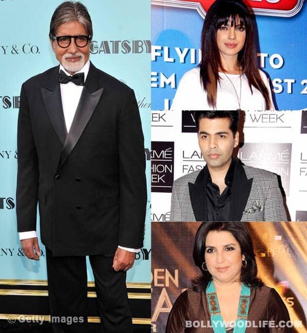 Amitabh Bachchan, Priyanka Chopra and Karan Johar wish a peaceful and laughter filled 2014!