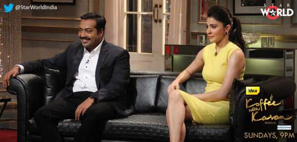 Koffee with Karan 4: Anushka Sharma to share the couch with Anurag Kashyap!