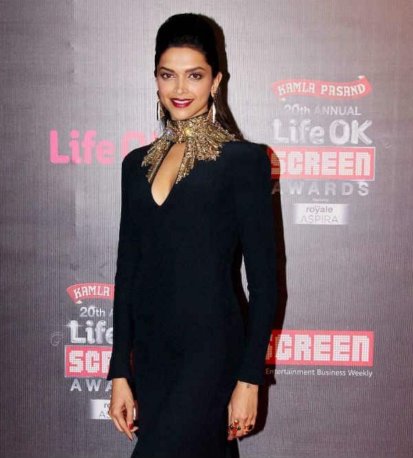 20th Annual Life OK Screen Awards: Deepika Padukone celebrates triple victory!