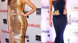 Deepika Padukone and Priyanka Chopra look ravishing on the Filmfare red carpet!