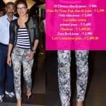 Wear your attitude on your jeans like Priyanka Chopra!