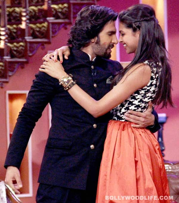 Is Deepika Padukone finally acknowledging Ranveer Singh's feelings?