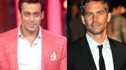Why was Salman Khan disturbed by Paul Walker's death?