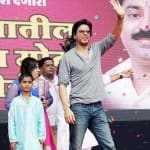 An injured Shahrukh Khan resumes Happy New Year shoot