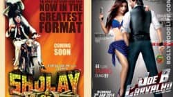 Sholay 3D fares better than Arshad Warsi starrer Mr Joe B Carvalho at the box office
