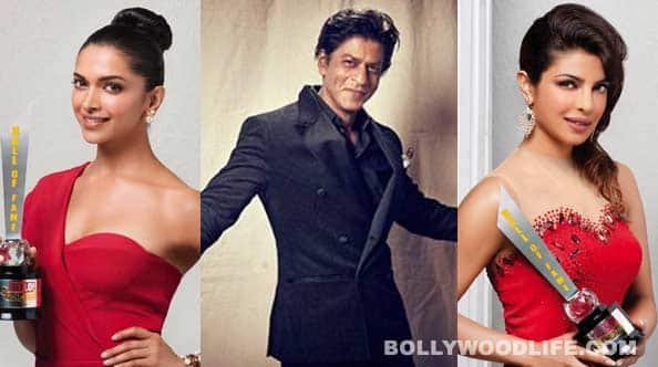 Shahrukh Khan, Priyanka Chopra and Deepika Padukone bag Hello! hall of fame awards: View pics!