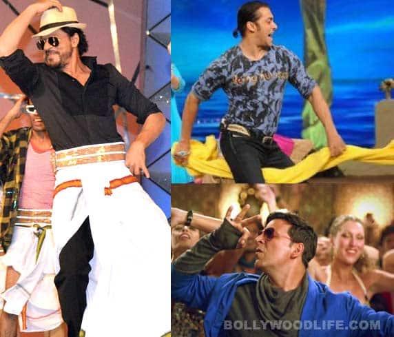 Shahrukh Khan's lungi, Salman Khan's towel, Akshay Kumar's hookah: When stars had a little help….