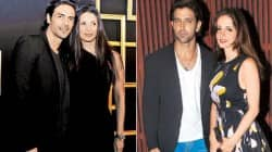 Arjun Rampal and Hrithik Roshan and sussane roshan and Mehr Jessia dont party together after the divorce