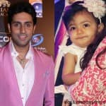 What did Abhishek Bachchan's daughter Aaradhya Bachchan do on Saraswati Puja?