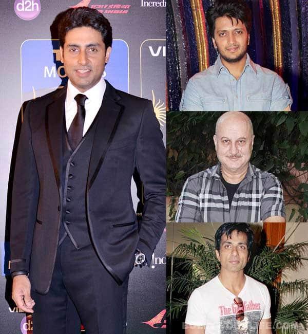 Anupam Kher, Sonu Sood, Riteish Deshmukh wish Abhishek Bachchan a happy birthday!