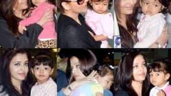 Aishwarya Rai Bachchan's daughter Aaradhya Bachchan turns supermodel for mommy!