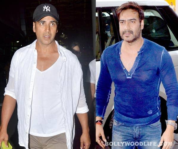Will Akshay Kumar overshadow Ajay Devgn at the box office?