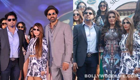 Ex-lovers Akshay Kumar and Ranveena Tandon come together!
