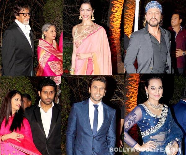 Aishwarya Rai Bachchan, Shahrukh Khan, Deepika Padukone, Ranveer Singh spotted at Ahana Deol's wedding – View pics!