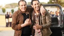 Dharmendra to play double role in Punjabi film Double Di Trouble