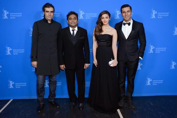 Alia Bhatt, Randeep Hooda, AR Rahman and Imtiaz Ali rock the Berlin red carpet