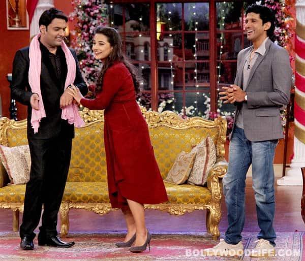 Comedy Nights with Kapil: How did Farhan Akhtar and Vidya Balan prove lucky for Kapil Sharma's bua? View pics!