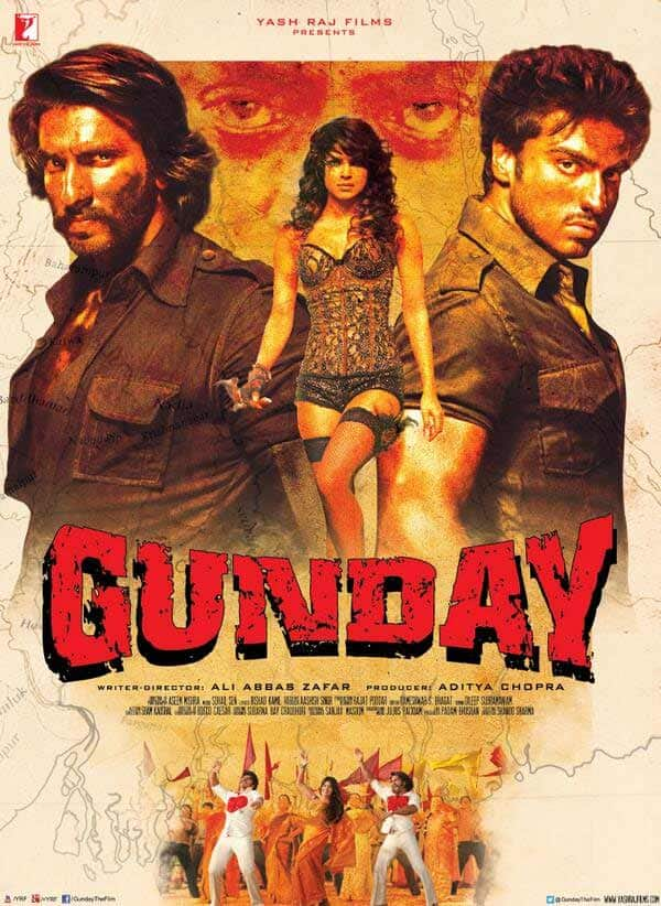 Gunday movie review: Ranveer Singh and Arjun Kapoor's bromance overshadows the sexy Priyanka Chopra!