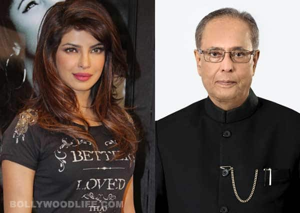 Priyanka Chopra dines with Pranab Mukherjee at Rashtrapati Bhavan!