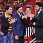 Comedy Nights with Kapil: Ranveer Singh, Arjun Kapoor and Priyanka Chopra  add romance, action and drama to the show!