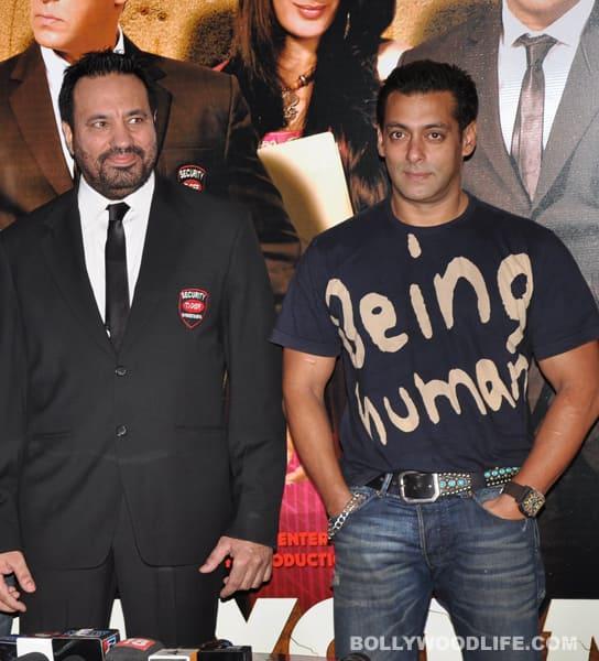 Salman Khan's bodyguard Shera at bride Ahana Deol's service!