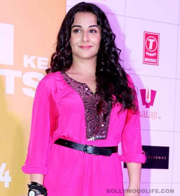 Vidya Balan: I am not pregnant!