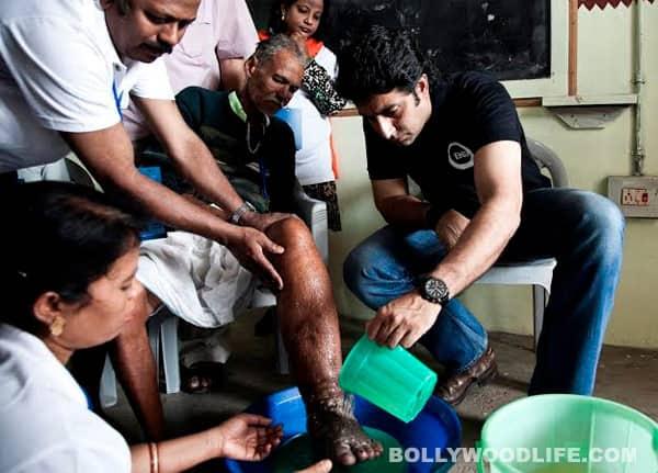 What was Abhishek Bachchan doing in Odisha?