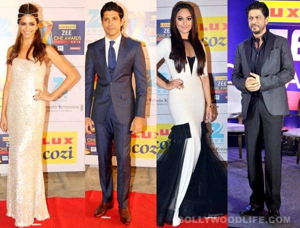Zee Cine Awards 2014: Shahrukh Khan, Deepika Padukone, Farhan Akhtar and Sonakshi Sinha win!