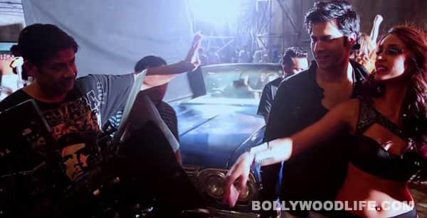 Main Tera Hero song Besharmi ki height making video: Varun Dhawan and Illeana D'Cruz are electrifying!